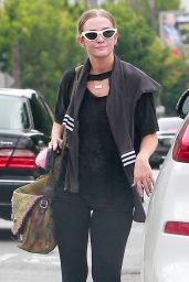Ashlee Simpson at the Gym in Studio City 08/21/2021