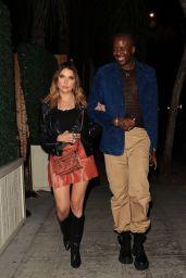 Ashley Benson and Vas Morgan Night Out in LA 08/20/2021