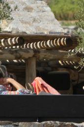 Ashley Roberts, Janette Manrara and Lou Teasdale - Mykonos 08/19/2021