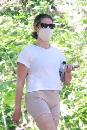 Ashley Tisdale at Griffith Park in Los Feliz 08/29/2021
