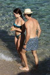 Aurora Ramazzotti in a Bikini - Mykonos 08/09/2021