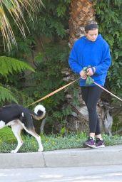 Ava Phillippe - Walking Her Dogs in LA 07/30/2021