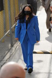 Awkwafina - Arrives to Jimmy Kimmel Live! in Hollywood 08/18/2021