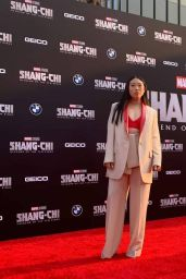 """Awkwafina – """"Shang-Chi and the Legend of the Ten Rings"""" World Premiere in Los Angeles"""