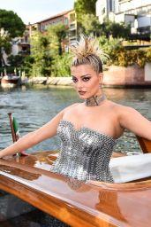 Bebe Rexha - Dolce & Gabbana Fashion Show in Venice 08/29/2021