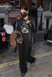 Bella Hadid at the Chiltern Firehouse in London 08/18/2021