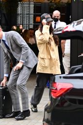 Bella Hadid - Checking Out of the Chiltern Firehouse in London 08/21/2021