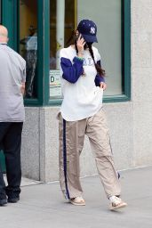 Bella Hadid in Casual Outfit - New York 08/09/2021