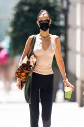 Bella Hadid in Workout Outfit in New York City 08/06/2021