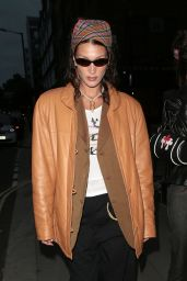 Bella Hadid - Out in London 08/17/2021