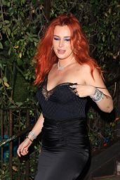 Bella Thorne Night Out Style - Petit Ermitage in West Hollywood 08/28/2021
