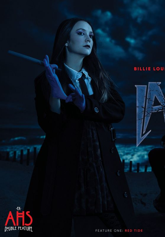 """Billie Lourd - """"American Horror Story: Double Feature"""" Promo 2021"""