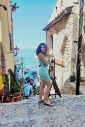 Blanca Blanco a Short Tie-Dye Dress - Sicily 08/08/2021