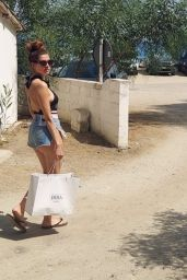 Blanca Blanco Wearing a