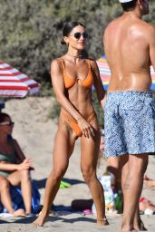 Camila Coelho in a Bikini - Playing Beach Volleyball in Malibu 08/01/2021