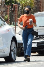 Camila Mendes - Out in Los Angeles 08/24/2021