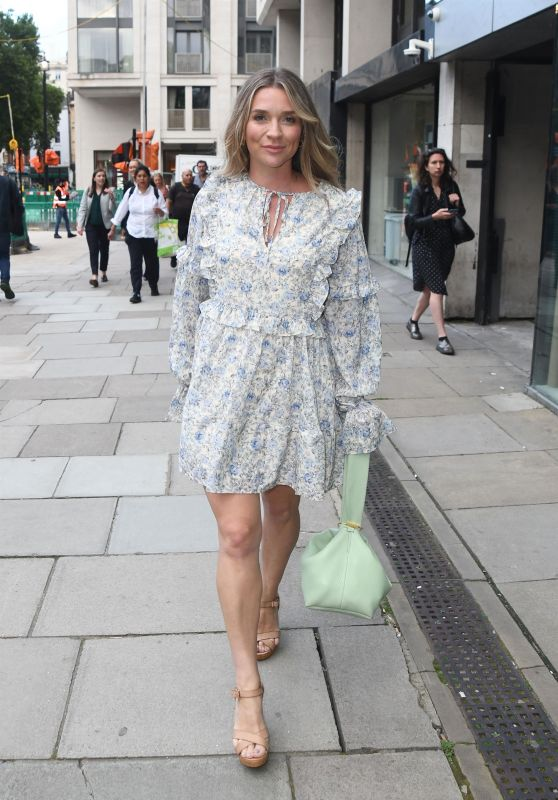 Candice Brown - Mental Health & Me By Frankie Bridge Book Launch in London 08/19/2021