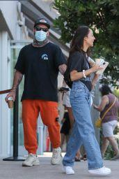 Cara Santana With Her Boyfriend Shannon Leto in Malibu 08/15/2021
