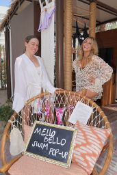 Cassie Scerbo at Elia Beach Club LV at Virgin Hotels, Las Vegas 08/14/2021
