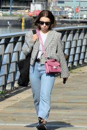 Charlotte Jordan Street Style - Manchester 08/20/2021