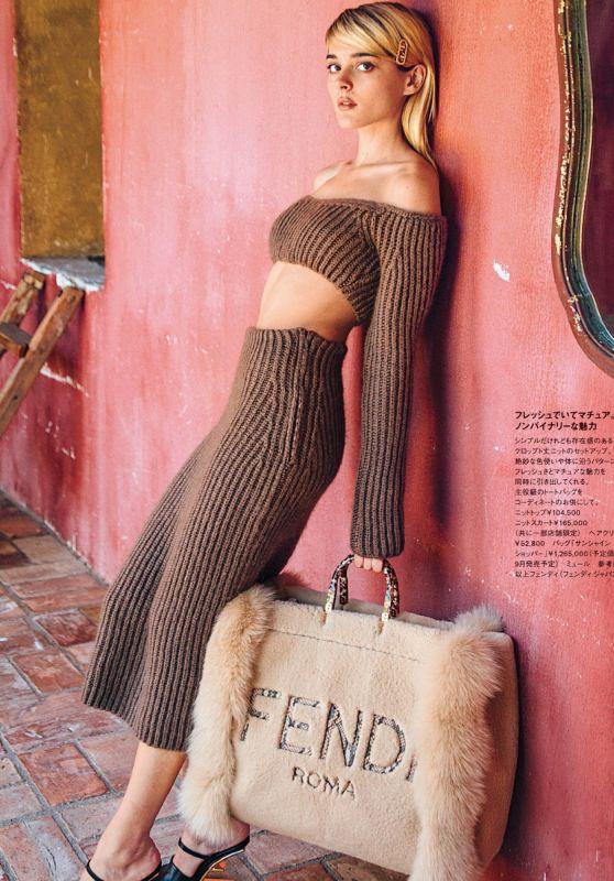 Charlotte Lawrence - ELLE Japan July 2021 Issue