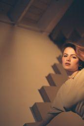 Chiara Aurelia - Photoshoot for Flaunt Magazine August 2021