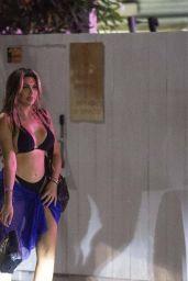 Chloe Ferry - Wayne Linekers Beach Club in Ibiza 08/02/2021