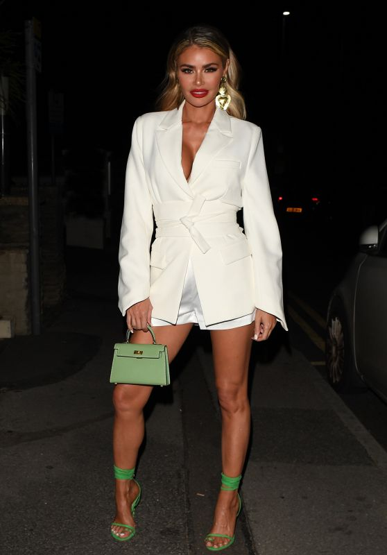"""Chloe Sims – """"The Only Way is Essex"""" TV Show Press Night in Bournemouth 08/28/2021"""