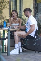 Chloe Veitch and Harry Jowsey - Out in Los Angeles 08/10/2021