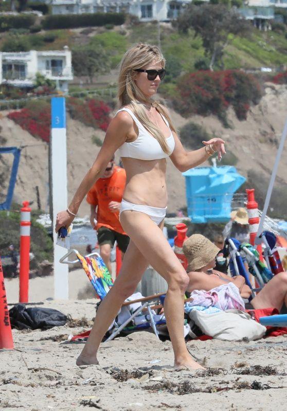 Christina Anstead at an Orange County Beach 08/19/2021