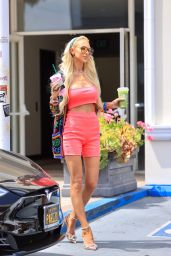 Christine Quinn in a Colorful Outfit - West Hollywood 08/20/2021