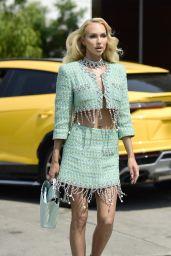 Christine Quinn is Stylish - Los Angeles 08/19/2021