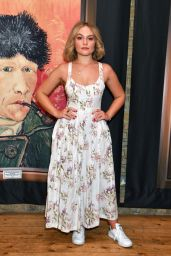 """Ciara Charteris – """"Van Gogh: The Immersive Experience"""" Private View in London"""
