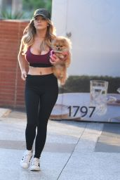 Courtney Stodden - Out in Los Angeles 08/08/2021