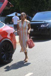 Dania Ramirez – Leaves Jennifer Klien's Day of Indulgence in Brentwood 08/15/2021