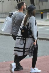 Darby Ward Shopping with Fiancée Michael Jackson in Manchester City 08/23/2021