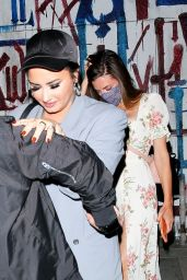 Demi Lovato at Craig
