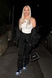 """Demi Sims – """"The Only Way is Essex"""" TV Show Press Night in Bournemouth 08/28/2021"""