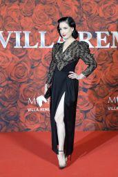 Dita Von Teese - Party in Villa Remus in Mallorca 08/03/2021