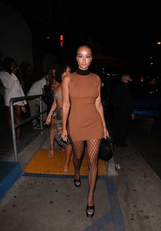Draya Michele - Arrives at a Party at the Highlight Room in LA 08/25/2021