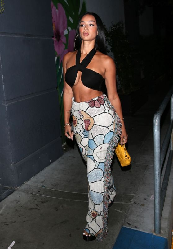 Draya Michele Night Out Style - Los Angeles 08/11/2021