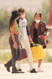 Dua Lipa and Anwar Hadid Catch a Private Jet Out of Ibiza 08/15/2021