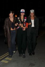 Dua Lipa and Bella Hadid Night Out - London 08/21/2021