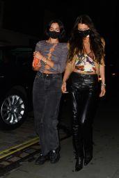 Dua Lipa and Bella Hadid - Out in New York 08/16/2021