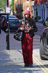 Dua Lipa Street Style - London 08/25/2021
