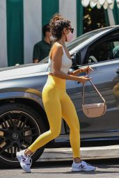 Eiza Gonzalez Booty in Tights - San Vicente Bungalows in West Hollywood 08/10/2021