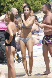 Elisabetta Canalis in a Bikini - Sardinia 08/01/2021