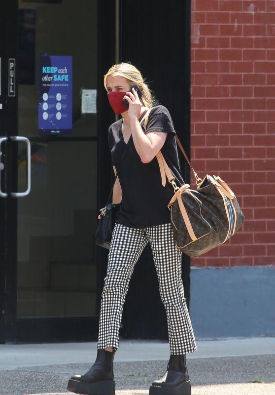 Emma Roberts Street Style - New York 07/30/2021