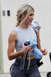 Emma Slater Booty in Tights - Los Angeles 08/21/2021