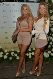 Eve Gale and Jess Gale - Adora Swim Event in London 07/30/2021
